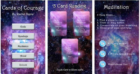 My Cards Of Courage Oracle App